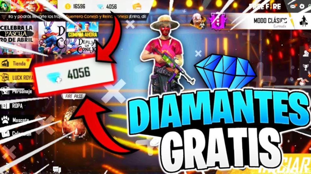 Gana Diamantes gratis en Free Fire!! 2020 (LO ULTIMO) - JuegosDroid