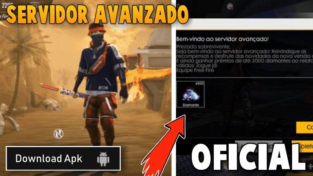 FREE FIRE SERVIDOR AVANZADO
