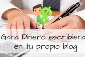 ganar dinero con tu propio blog